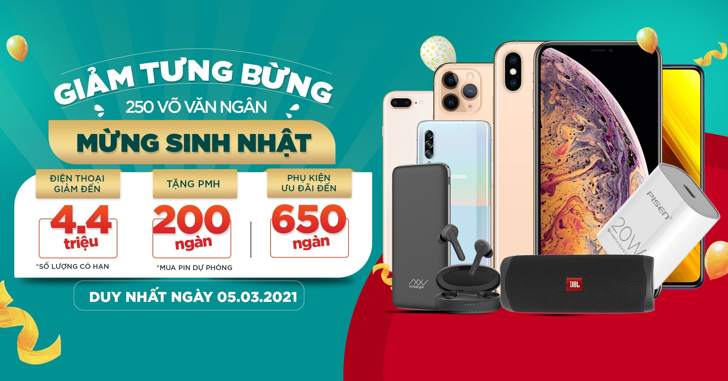 iPhone 12 Pro Max, iPhone Xs and Galaxy S21 Ultra 5G down to 4.4 million dong at XTmobile - VnReview