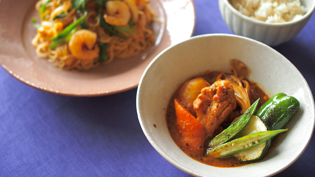 recipe The next day's remake recipe!How to make soup curry with plenty of vegetables