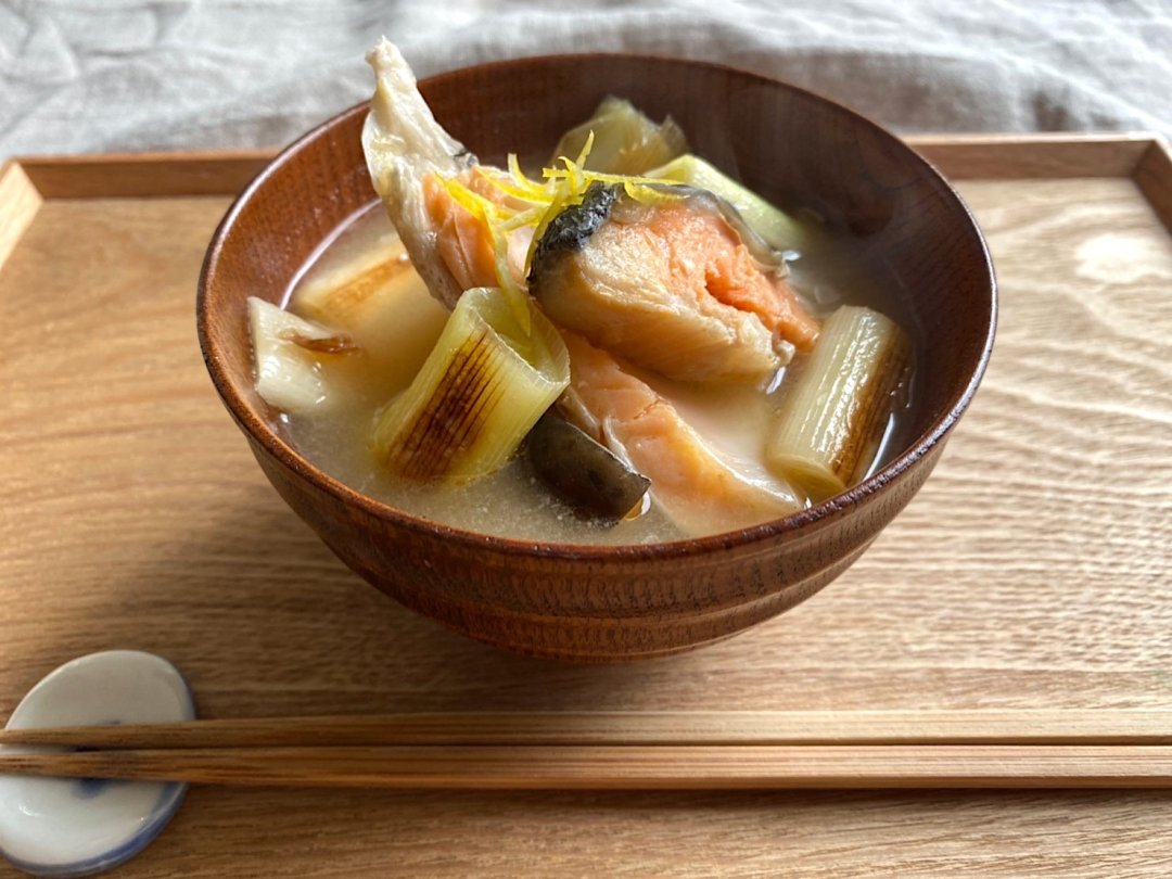 recipe What is your standard?  I asked 5 macaroni staff members[our miso soup]