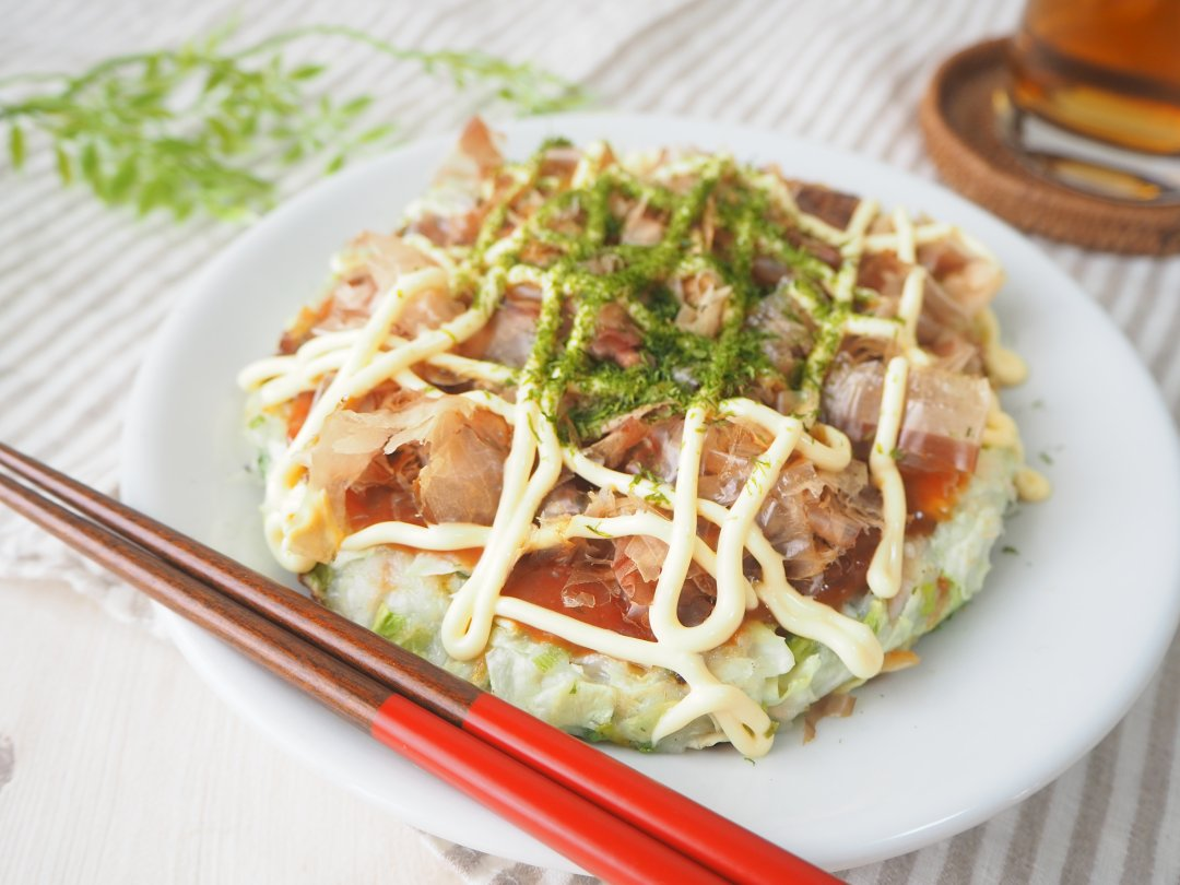 recipe Chewy texture!Okonomiyaki made from rice flour & 3 recommended rice flour recipes