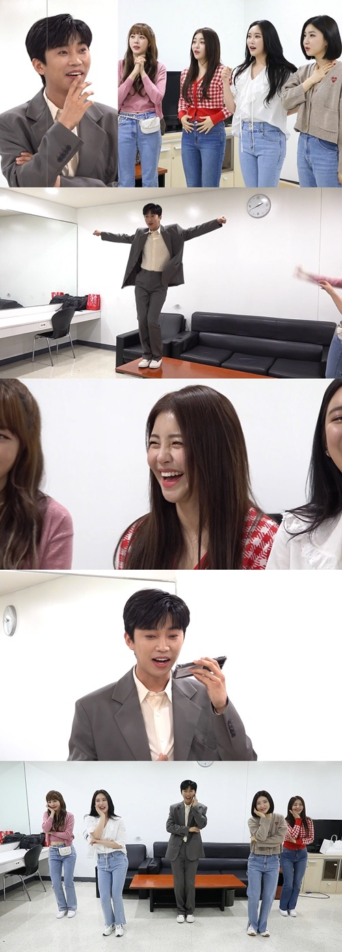 'At the time of war' Brave Girls x Heroic Lim, a surprise meeting in the waiting room [M+TV컷]