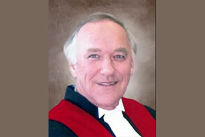 """Death of a retired judge: """"He was more than my lawyer, he was a friend"""""""