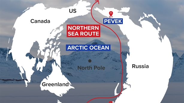Russia spends money to reduce costs for the North Sea route