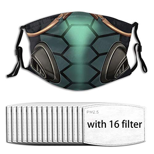 Masks- Viper Valorant Face with Multiple Filter Reusable Protective Adjustable Anti Dust Shield