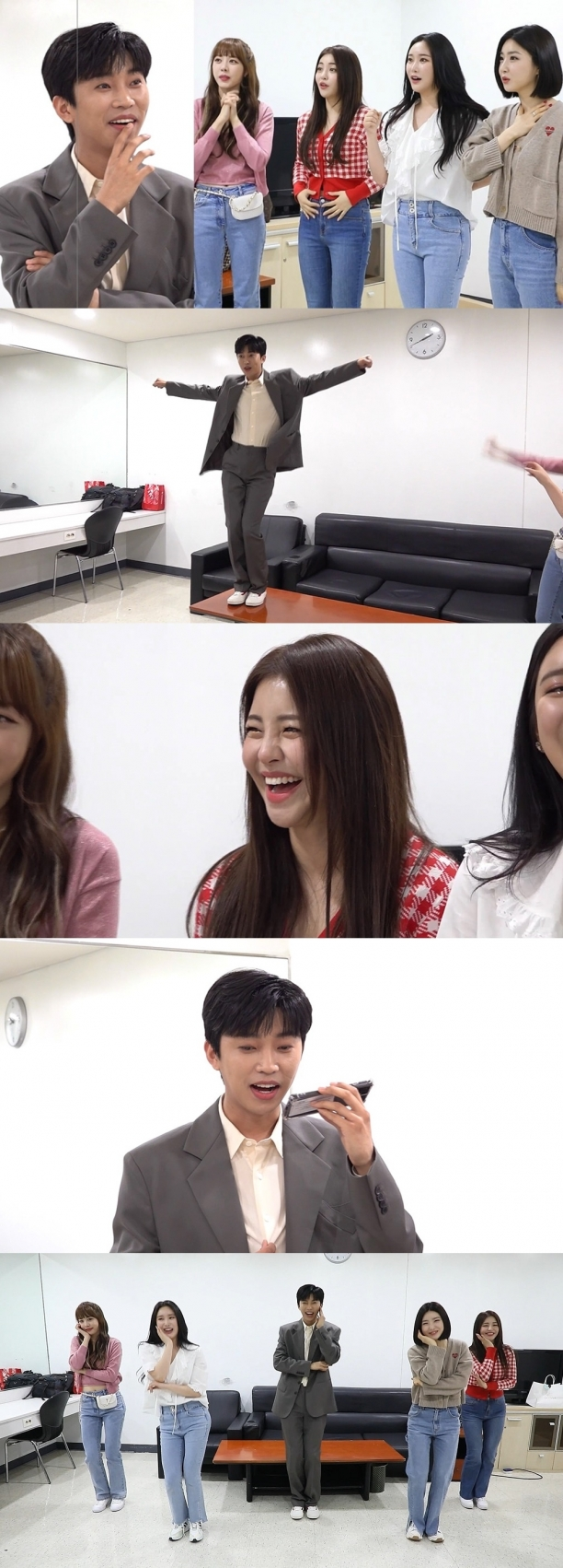 Youngwoong Lim X Brave Girls surprise meeting...  Eccentric Dance Reaction Explosion