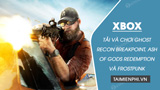 Download and play Ghost Recon Breakpoint, Ash of Gods Redemption and Frostpunk for free on Xbox