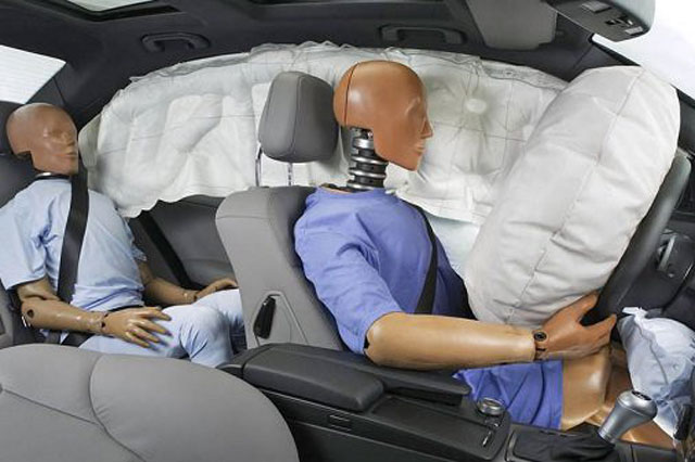 How important is the car airbag for safety?