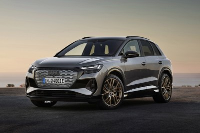 """Read 7,372 8 hours ago   """"Electric SUV with environment and design in mind"""" Audi'Q4 e-tron' unveiled!  Motor Desk 27"""