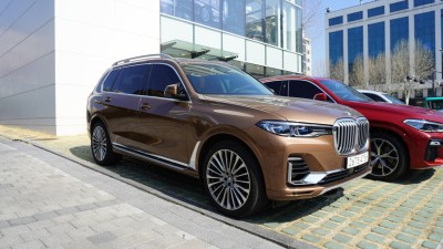 """2021.03.30.  40,507 reads   """"This is a 128.8 million won SUV""""Kolon Motors 27, the most luxurious large SUV in BMW"""