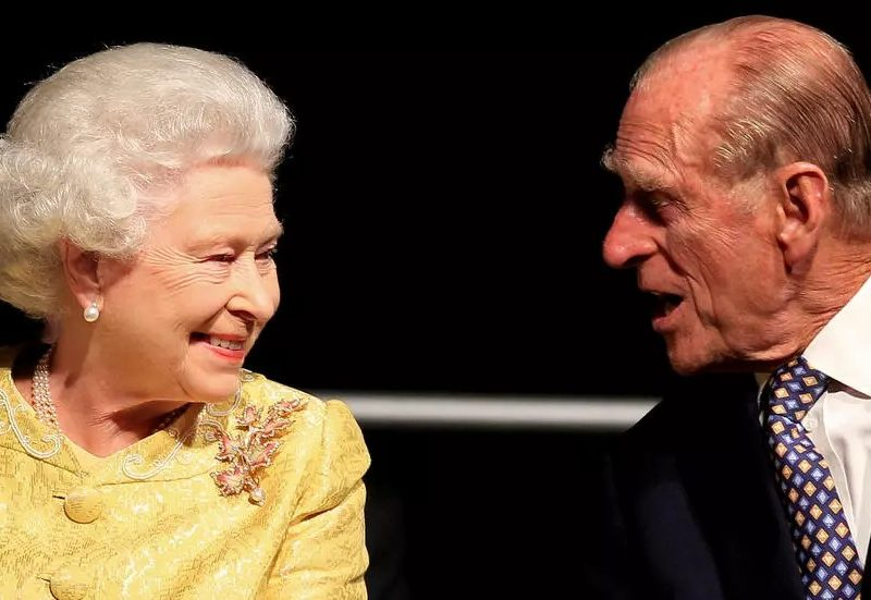 Queen Elizabeth II and her husband during an event in 2017. Photo: NYT