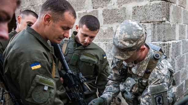 The US was just about to send troops into the Donbass, Kiev pointed out