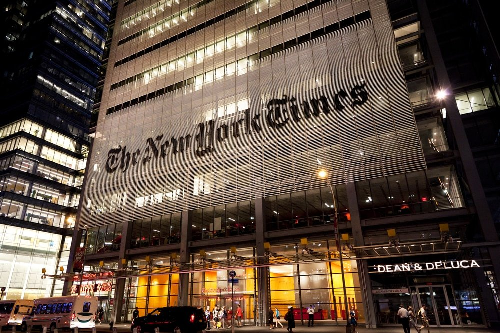 Several employees of NYT used to work for the CCP-controlled media channel