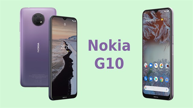 First impression Nokia G10: 5.050 mAh battery, minimalistic design, 3 rear cameras and the price is only 3.8 million VND *
