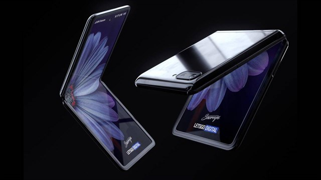 Expectations for the Galaxy Z Flip 2: Completing the overall more modern, beautiful and smoother screen than its predecessor