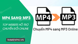 Top website to convert MP4 to MP3 online
