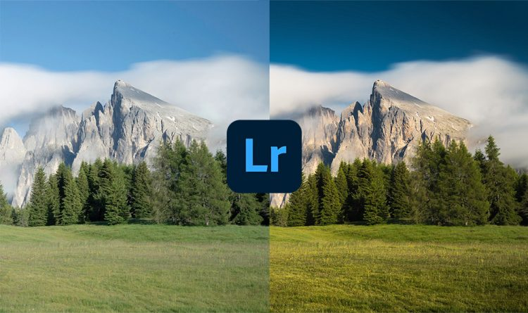 How to use Color Range Mask in Lightroom to create deep blue sky trời