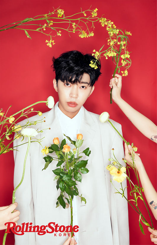 Young-woong Lim in springtime, between a boy and an adult [화보]