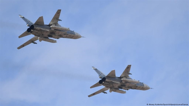 Russian-American fighters appeared in the sky of Idlib together?