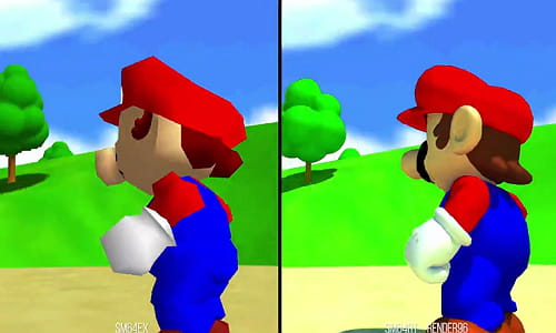 Super Mario 64 mod with Ray Tracing: what changes in the game