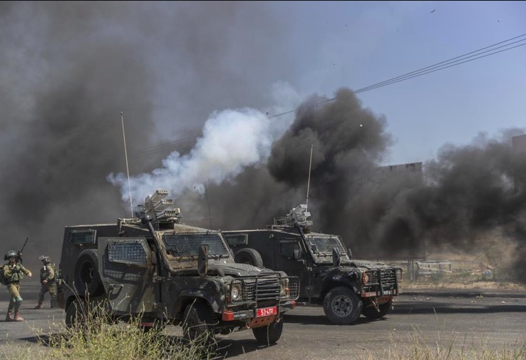 Conflict spreads in West Bank, hundreds of casualties