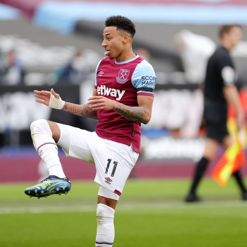 Lingard, Manchester United, West Ham
