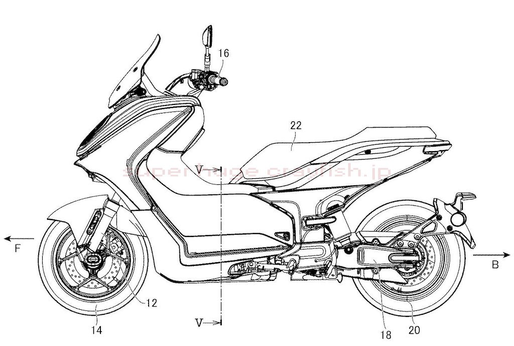 Honda Air Blade 125, Honda SH Mode is about to be 'disgraced' before the super electric scooter product has just been revealed by Yamaha