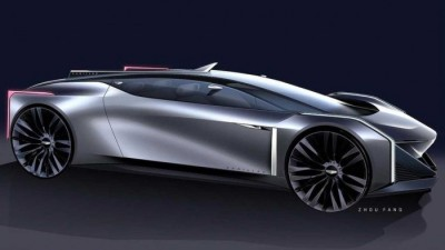 2021.05.06.  12,703 reads GM Designer Unveils Cadillac Electric Sports Coupe Rendering.. Design Features?  Daily Car 21