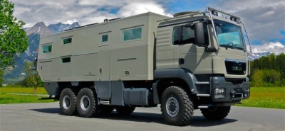 """11 hours ago 14,954 reads'Globe Cruiser 7500', an ultra-powerful camping car that will prevent typhoons...""""Is the hotel-class interior attractive?""""       Motoroid 11"""