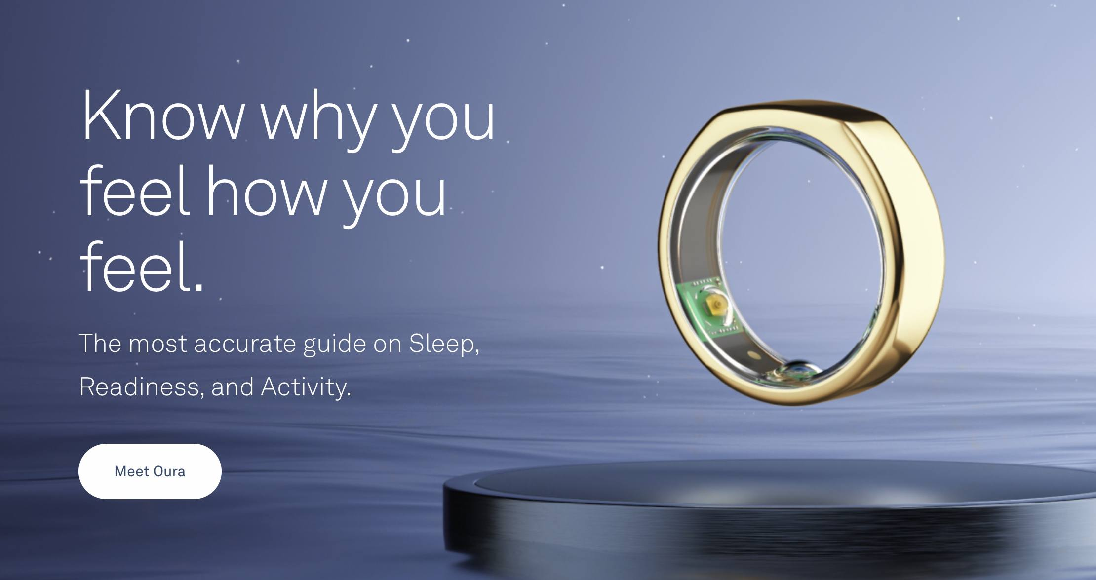 Not just a reduced version of the smart bracelet, smart ring Oura completes $100 million in Series C financing
