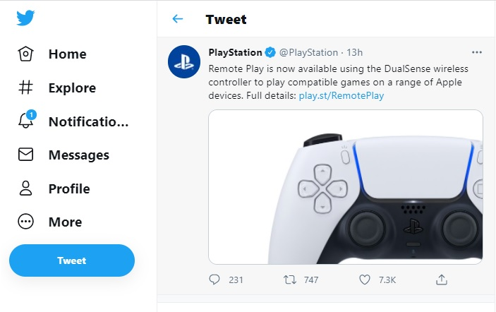 PlayStation 5 controller can be used to play games on iPhone, iPad