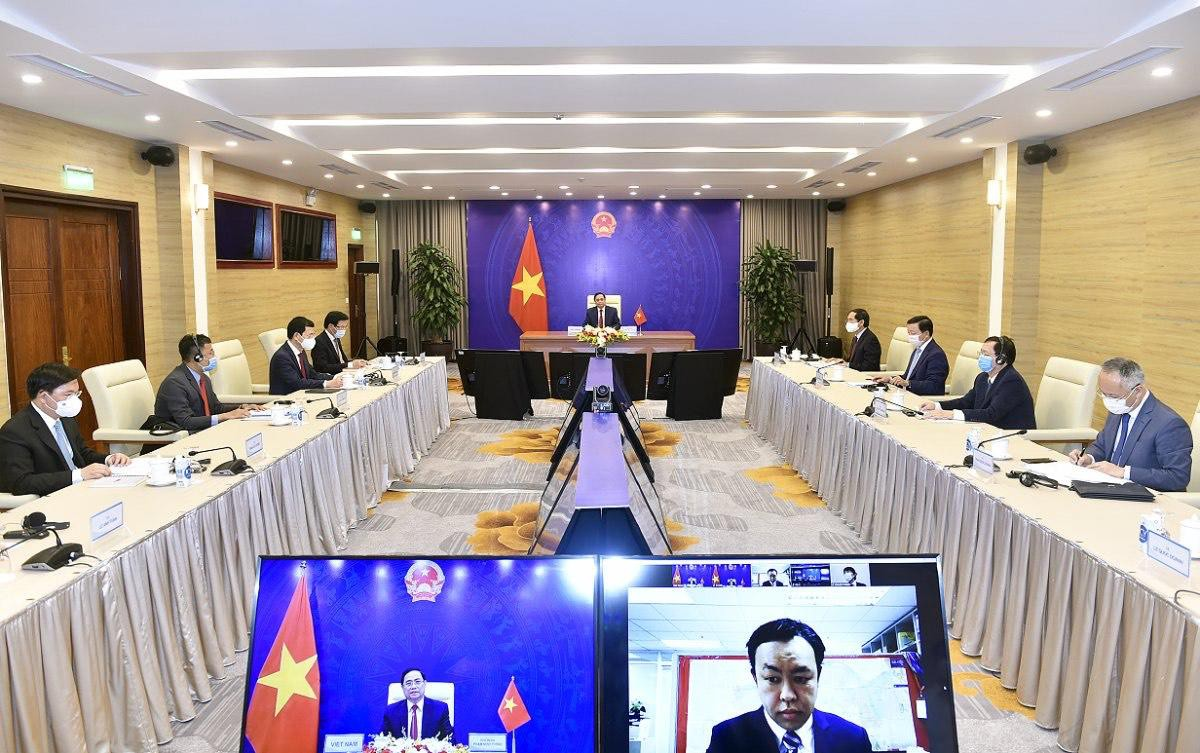 Prime Minister Pham Minh Chinh attends an international conference on the future of Asia Photo 1