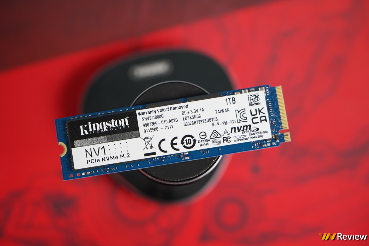Review of Kingston NV1 1TB SSD: Surprisingly good price, stable speed