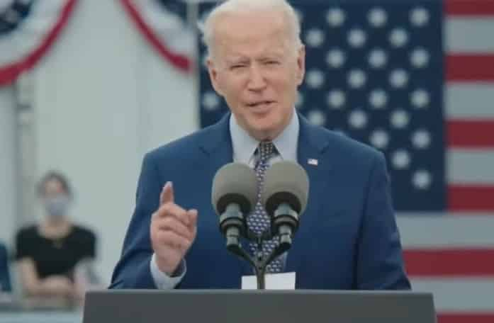 Mr. Biden incorrectly stated that the infrastructure plan will create 16 million more jobs