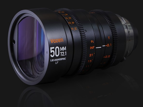 Wide angle 1.8x anamorphic lens for full frame sensors launched by Vazen: Digital Photography Review