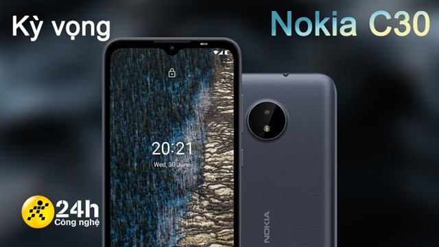 Expectations Nokia C30: Has a stable configuration with Snapdragon 460, large 6.5-inch screen and 5,000 mAh battery