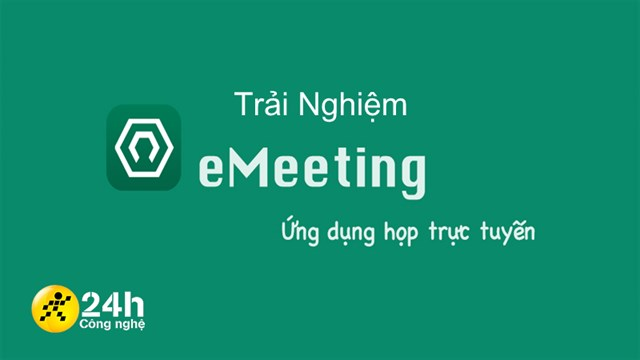 Experience App eMeeting: Online meeting platform Make in Vietnam (AIC and BKAV) competes with Zoom, optimizing security and ease of use