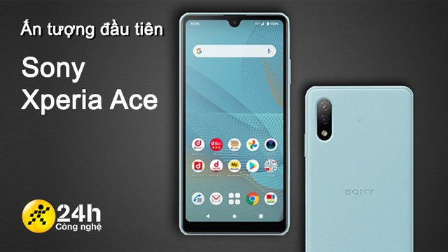 First impression Sony Xperia Ace 2: Sony smartphone priced under 5 million *, compact design integrated with IP68 waterproof standard