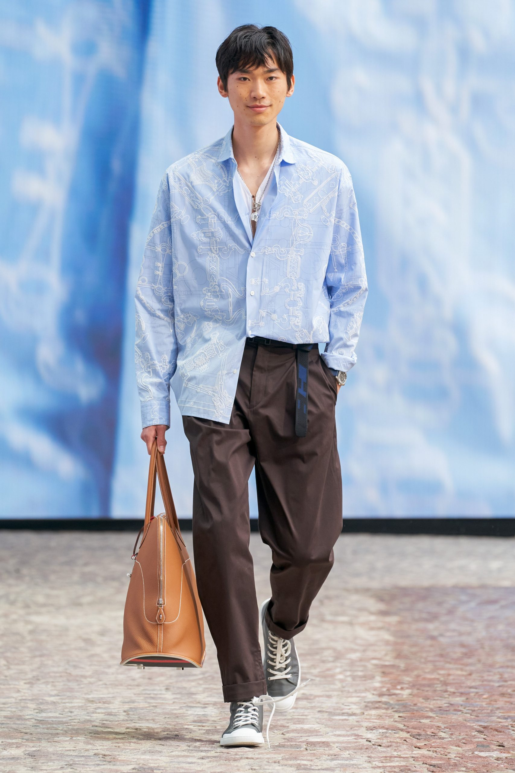 """Hermes Spring / Summer 2022 Men's Collection Thinks of """"Prince of the Stars"""""""
