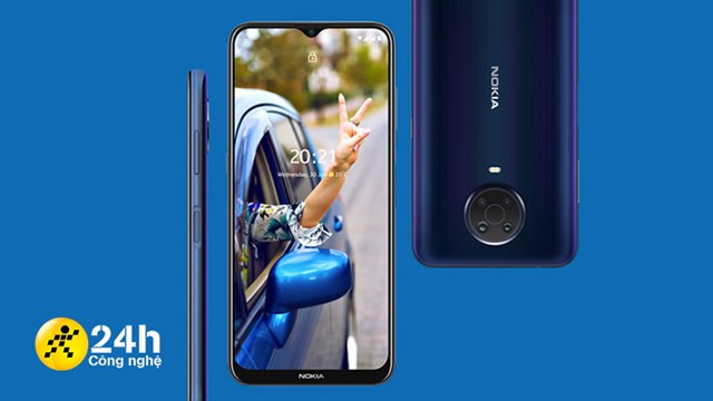 On hand Nokia G20: Nokia's characteristic design, large screen, 5,050 mAh battery and price from only 3.8 million * 1 hour ago