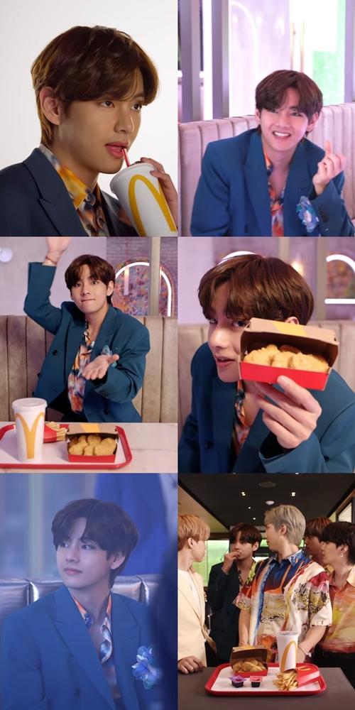 """BTS V, handsome visual + cute affinity + strong star characteristics """"advertising genius"""""""