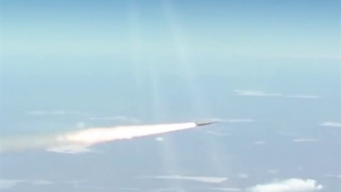 MiG-31K just launched Kinzhal at a mysterious target in Syria
