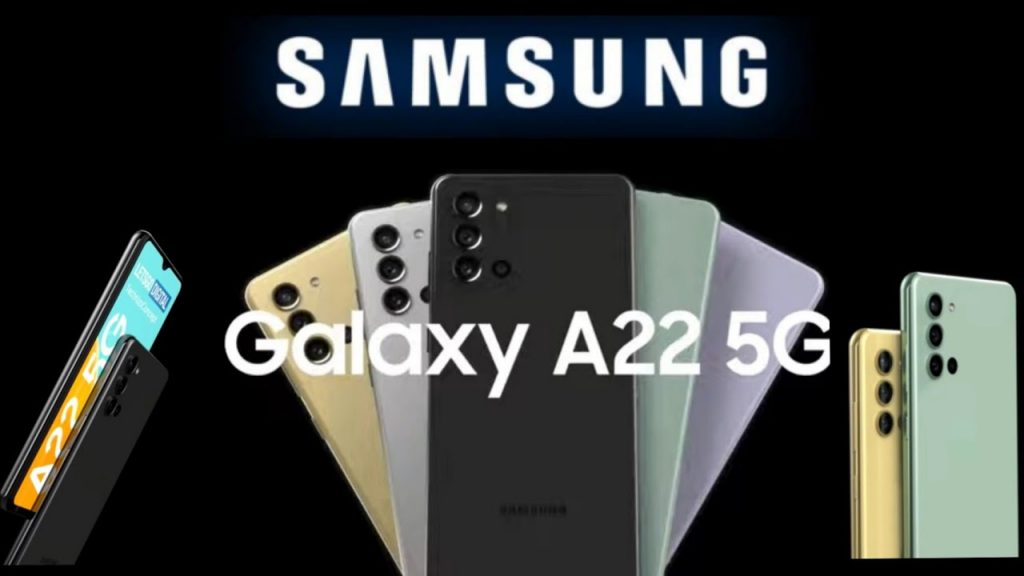 All information about Galaxy A22, Samsung's cheapest 5G phone model