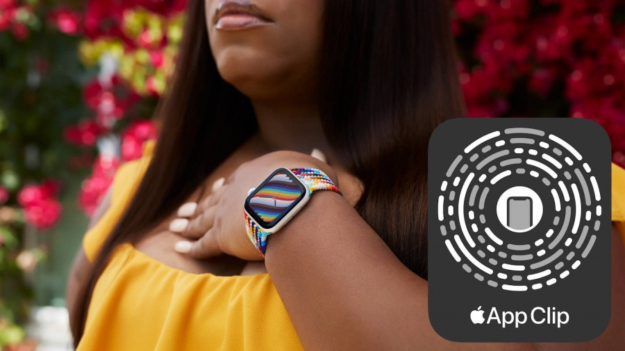 Apple Nike Watch - when the two big men shook hands to launch a super special Pride Edition strap for LGBT people