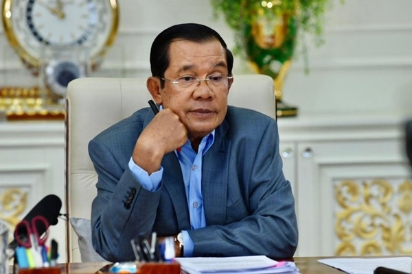 Cambodian Prime Minister quarantined for 14 days due to contact with people infected with Covid-19