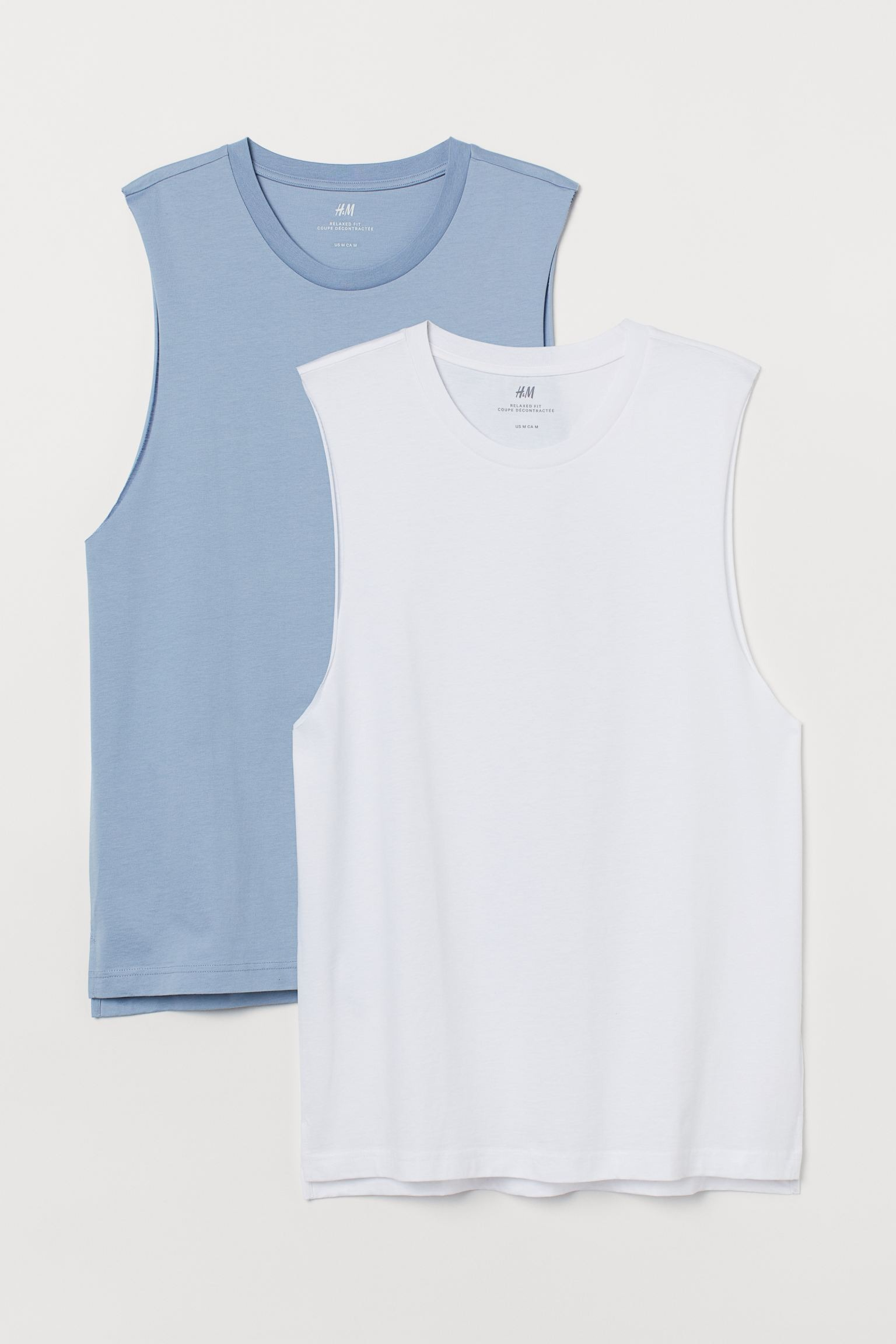 H&M 2-pack Relaxed Fit Tank Tops