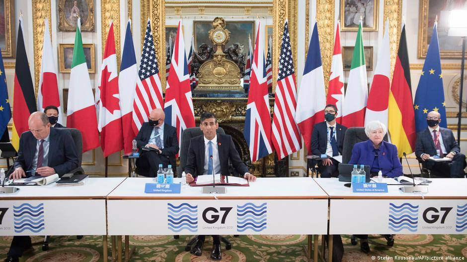 G7 bloc reached historic agreement on multinational corporate tax