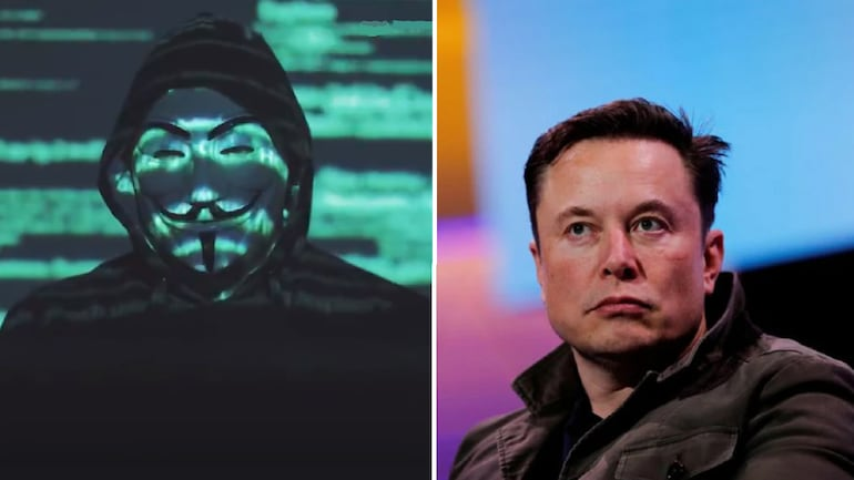 Hacker group Anonymous released a video criticizing billionaire Elon Musk for manipulating virtual currency