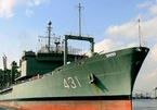 Iran's largest naval ship caught fire and sank into the sea