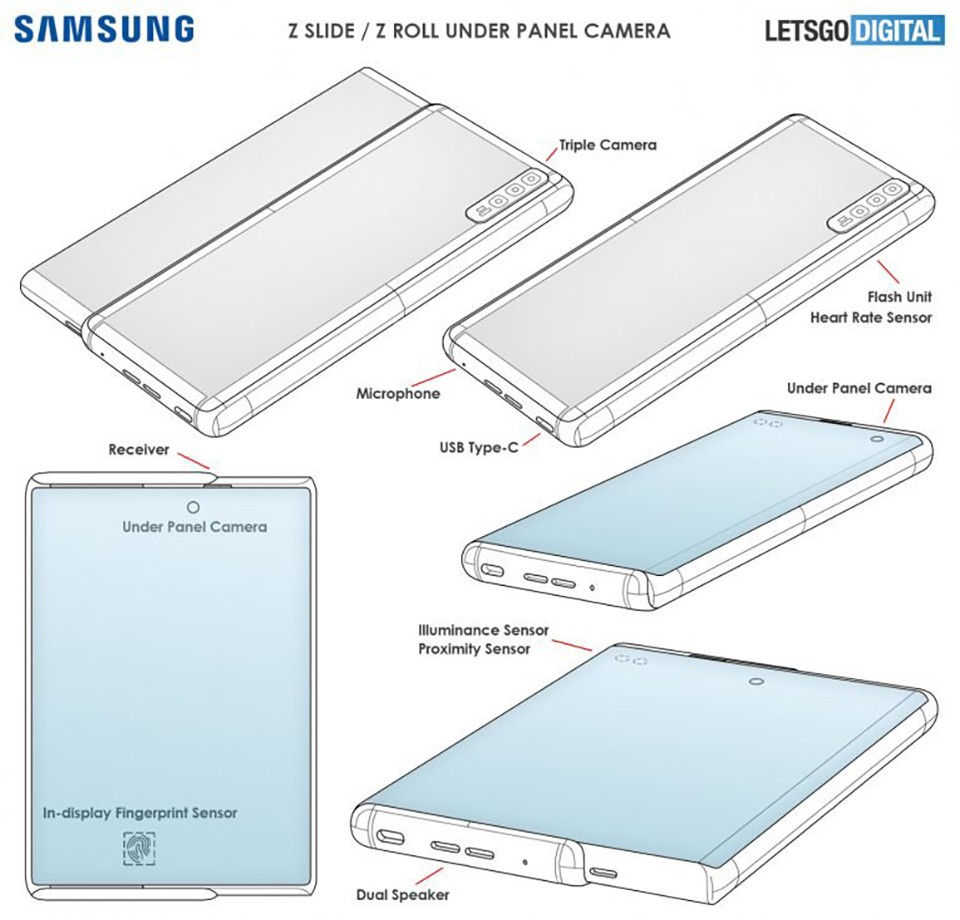 Samsung is developing a scrolling screen Galaxy Z Roll, integrating many outstanding technologies