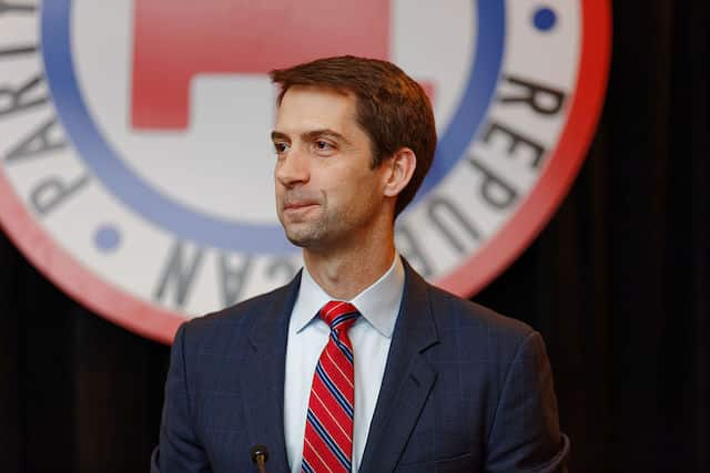 TNS Tom Cotton: The CCP may target US Olympic athletes to collect DNA